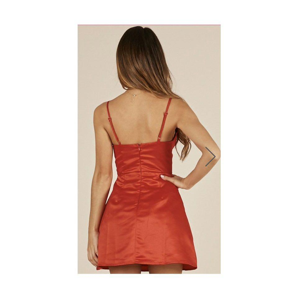 SHOWPO - Red Same Old Love Dress - similar to Selena Gomez dress