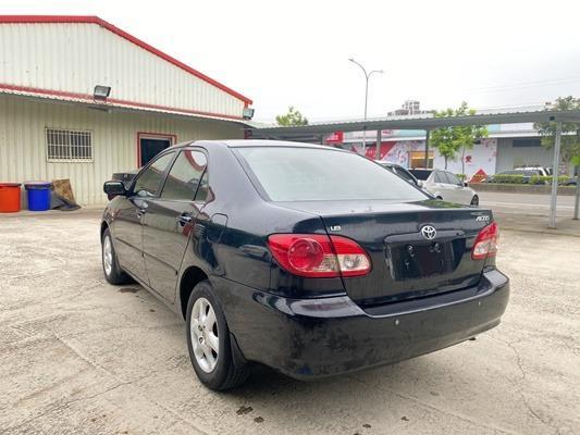 TOYOTA ALTIS 1.8 黑色 最耐開的代步車 便宜出售 可以協助貸款 強力過件