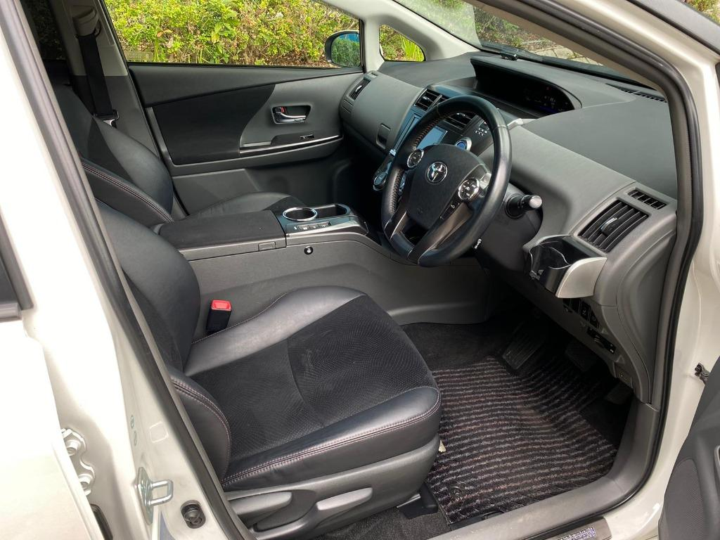 Toyota Prius V Touring  原廠蒙羅麗莎包圍😍TEIN 鉸牙避震 Auto