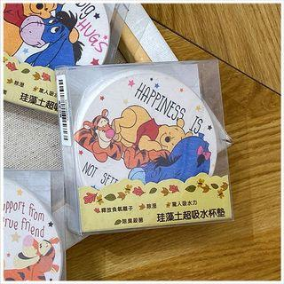 小熊維尼珪藻土墊 Winnie The Pooh Diatomaceous Earth Coaster