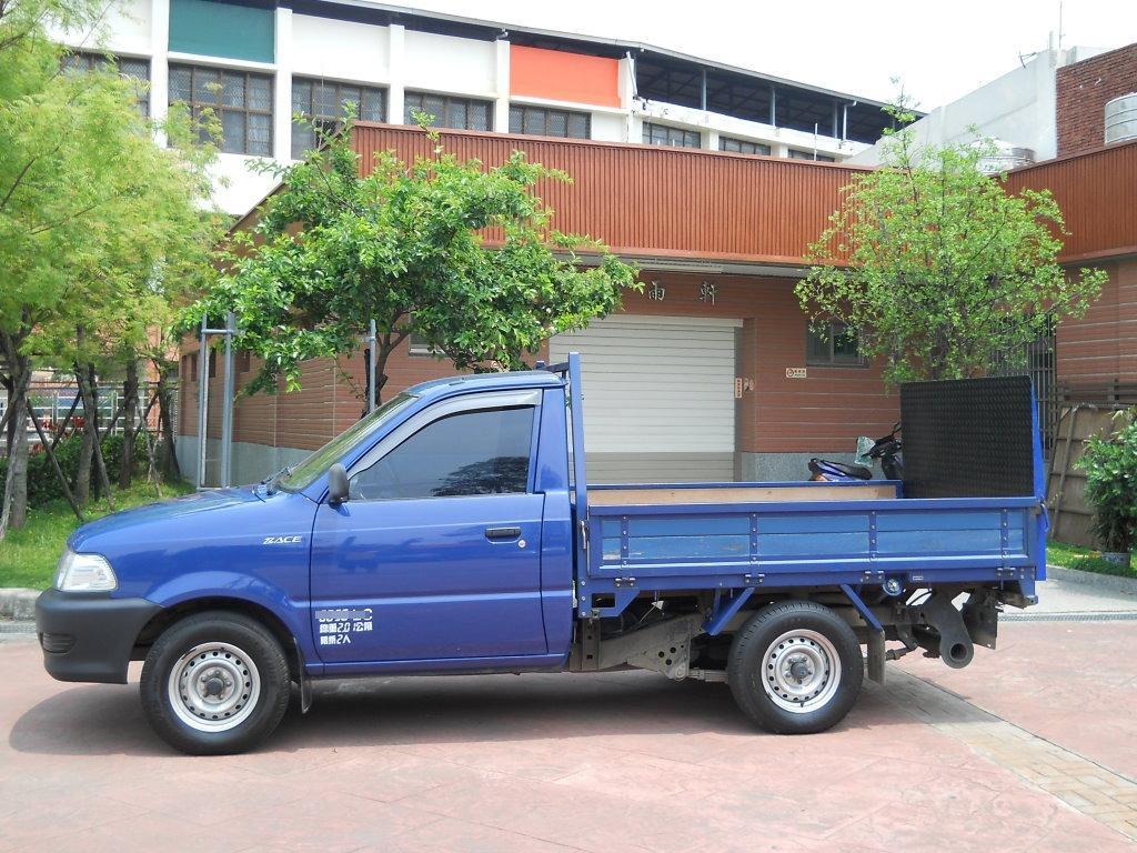 2004年 瑞獅 超大四尺升降尾門 貨車 1.8L 可全額貸/超貸