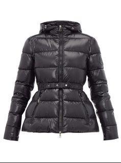 Moncler Rhin down jacket黑色羽絨外套 全新~降價~