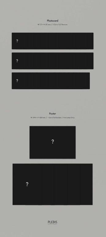 NU'EST - The Nocturne - 8th Mini Album - versions : Ver 1 / Ver 2 / Ver 3 / Ver 4 - NUEST - PREORDER / READY STOCK + FREE GIFT PHOTOCARDS
