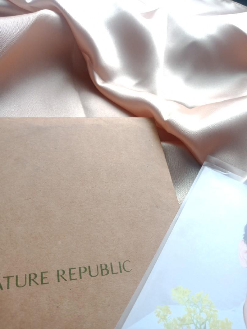 OFFICIAL Merchandise Nature Republic Foto EXO-K ver. [LIMITED]