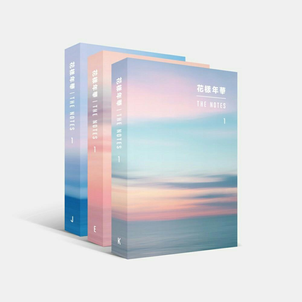 [PREORDER] BTS - THE MOST BEAUTIFUL : THE NOTES #1
