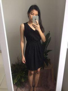 Reprice Little black dress hitam
