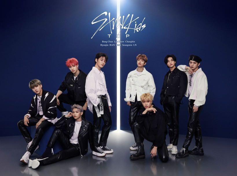 STRAY KIDS - TOP -Japanese ver TYPE A [Limited Edition]