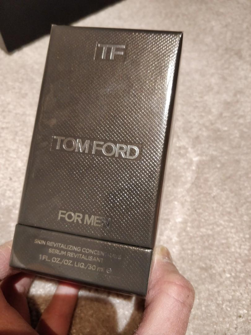 Tom ford skin revitalizing concentrate serum for man 30ml