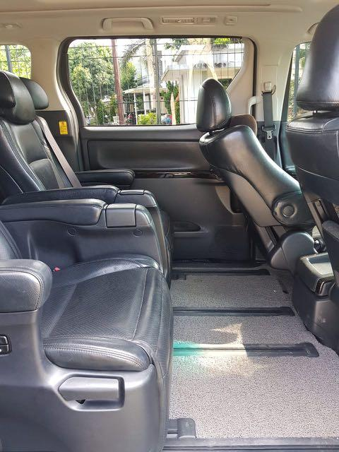 Toyota Vellfire Z AT Audioless 2013,Cermin Sebuah Kesusksesan