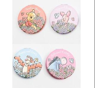 Winnie The Pooh Compact Double-sided Mirror (Round)
