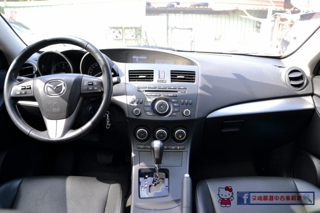2013年Mazda 3 4D 2.0 一手認證車 車況超優質~