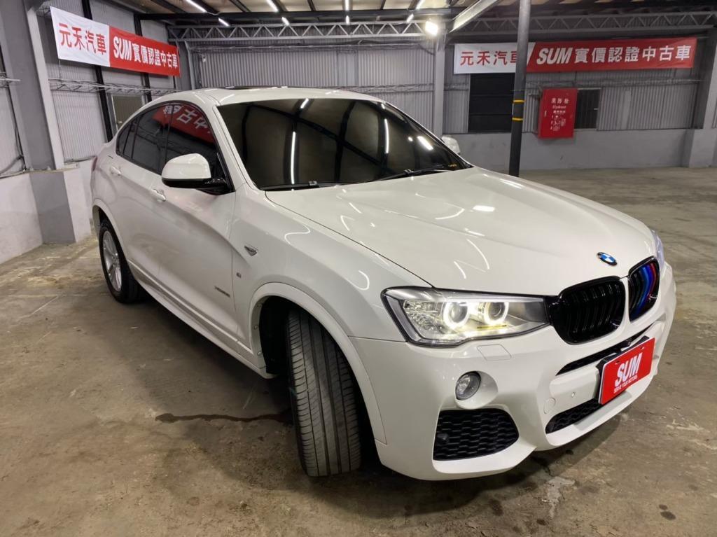 2015 BMW X4 35i 3.0 運動休旅 非賓士奧迪富豪保時捷