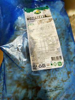 2KG Shredded Mozzarella Expiry 05202021
