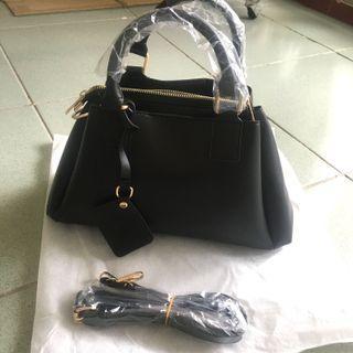 全新⚠️黑色手提/側背包包