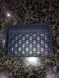 Authentic Gucci card holder