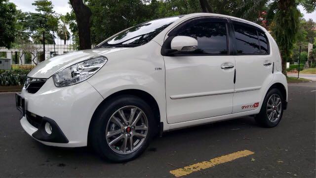 Daihatsu Sirion M Sporty AT 2013,Setia Menemani Keseharian Dinamis