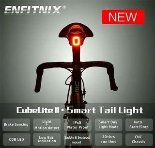 ENFITNIX CubeLite II智能感光剎車尾燈(座墊款 & 座管款)