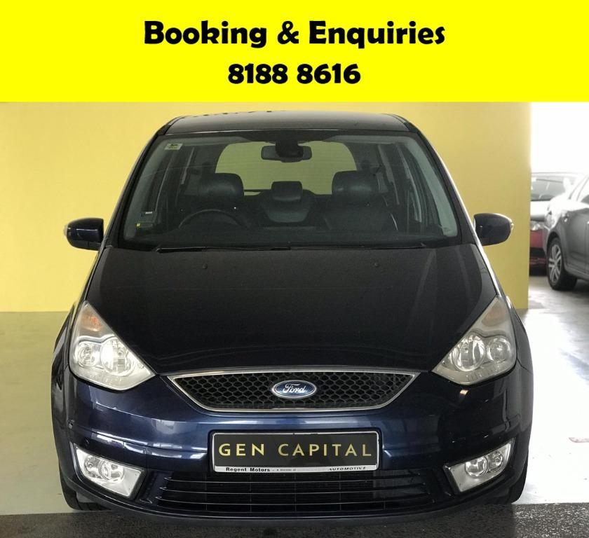 Ford Galaxy JUST IN -THE CHEAPEST RENTAL WITH 50% OFF DURING CIRCUIT BREAKER, ADVANCE BOOKING ONLY! CIRCUIT BREAKER PROMO, only $500 deposit driveaway. Whatsapp 8188 8616 now to enjoy special rates!!