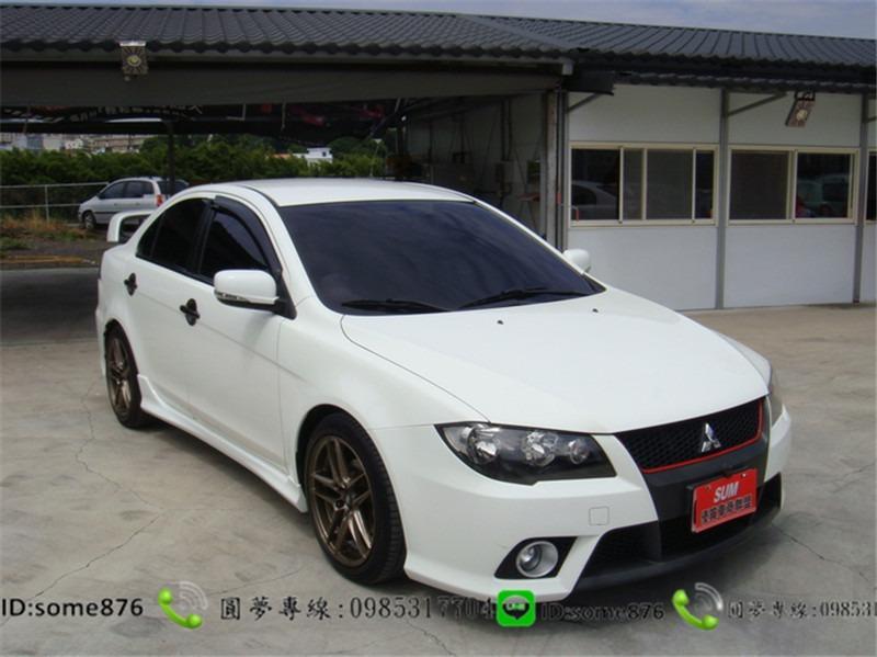 三菱FORTIS 1.8CC 白色
