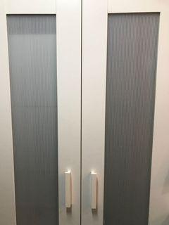 Ikea 衣櫃 ANEBODA wardrobe - 70% new 附連身鏡