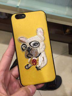 iPhone 6手機殼 刺繡