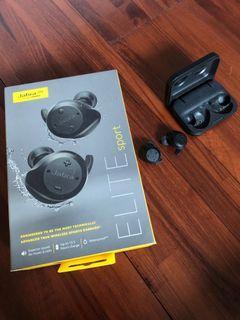 Jabra Elite Sport 無線藍芽抗噪耳機