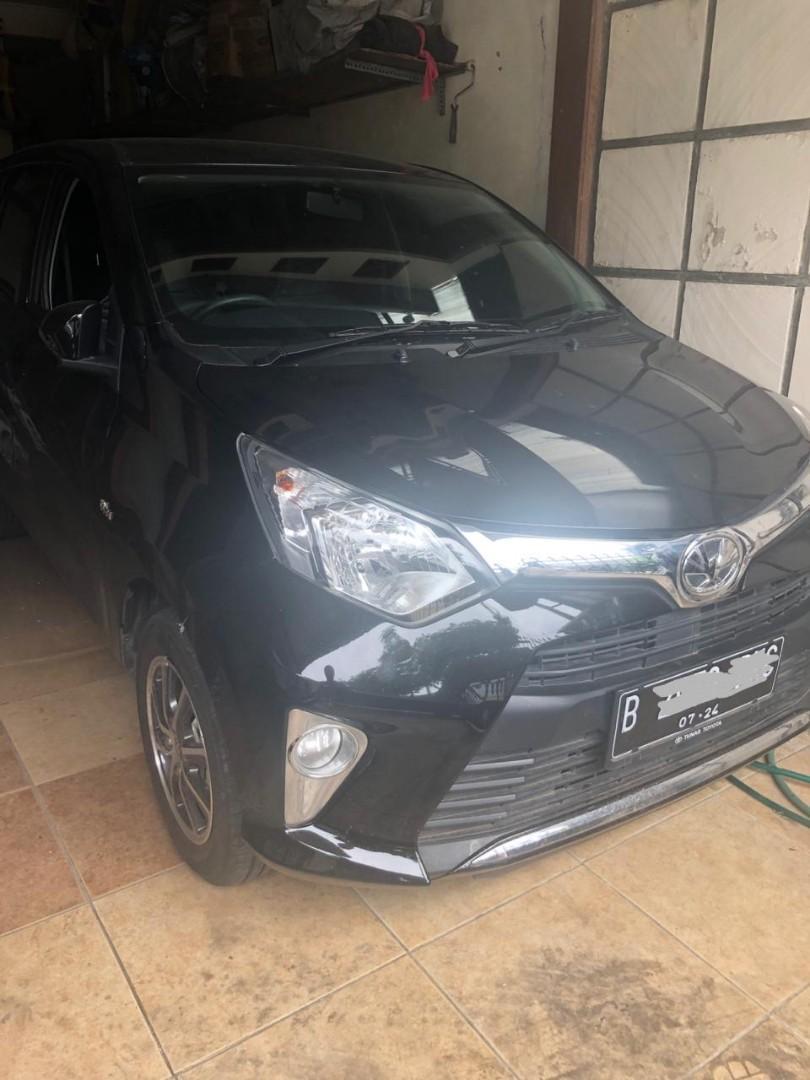 Jual bu Cash Toyota Calya 2019 G AT bukan siegra agya jazz brio mobilio ertiga livina