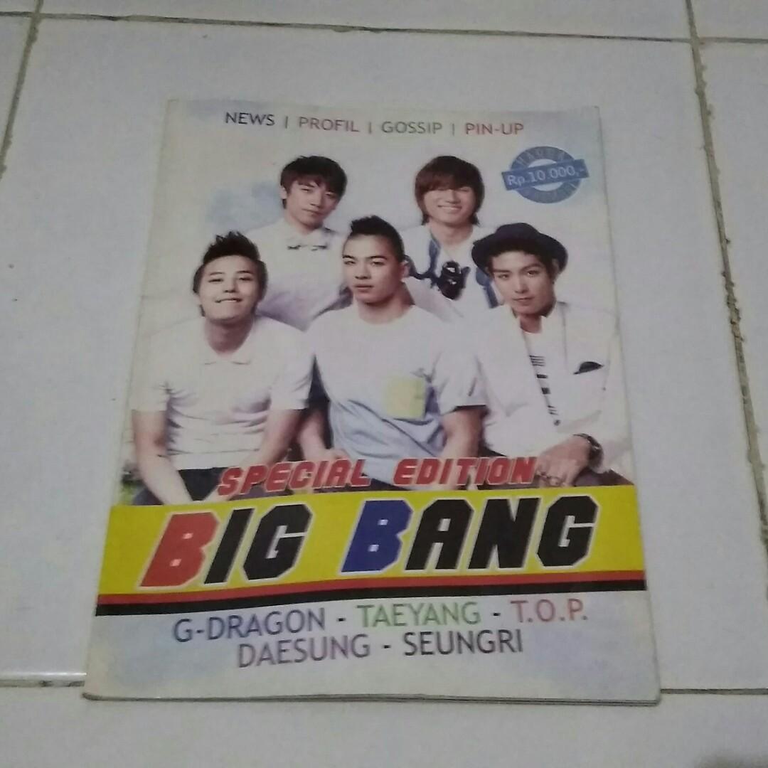 Majalah edisi BIGBANG #tisgratis #free #gift #freegift