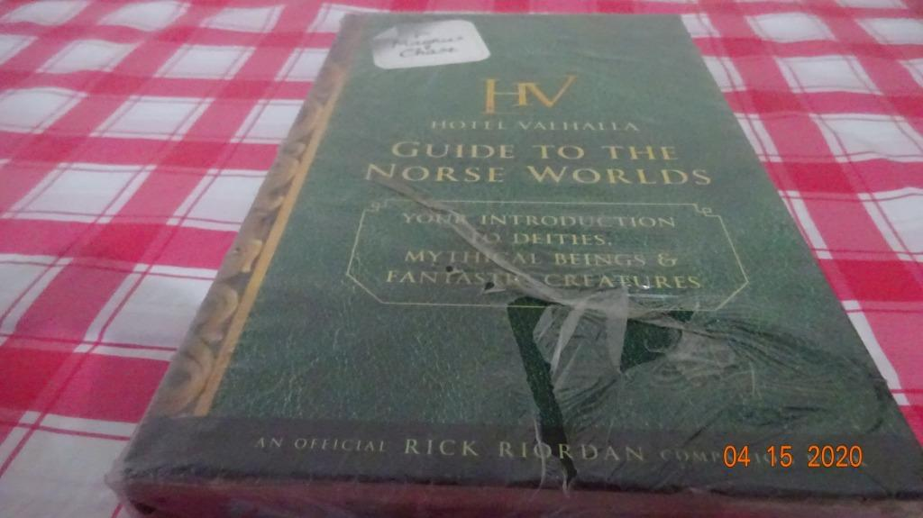 [NEW] For Magnus Chase: Hotel Valhalla, Guide to the Norse Worlds by Rick Riordan [Hardbound]