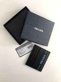 PRADA Leather Cardholder Brand New