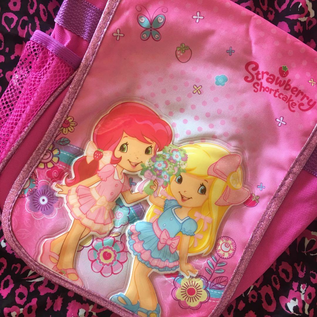 strawberry shortcake bag 🍓