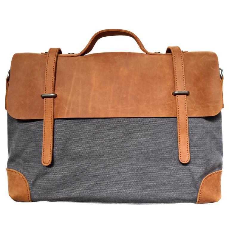 The Ninja Co. Full Grain Vintage Leather Sling Bag Shoulder Travel Backpack Crossbody Messenger Men Women Gift NB 8802