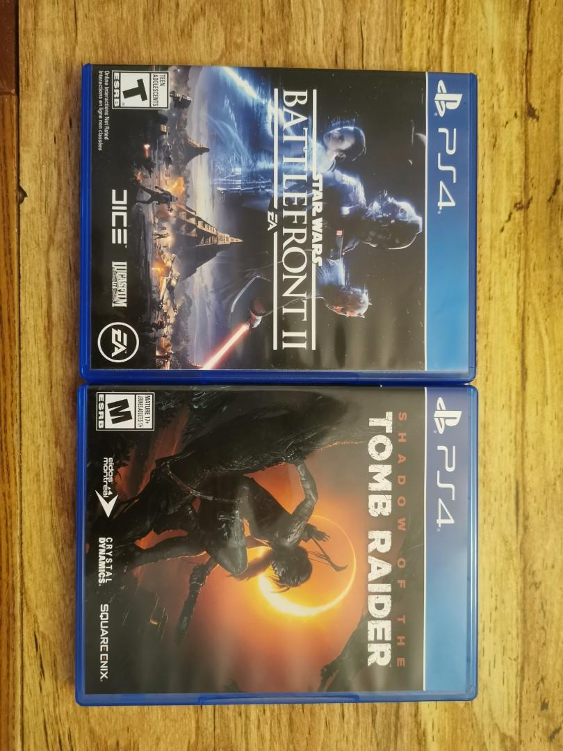 Tomb Raider + Battlefront II + Uncharted Collection