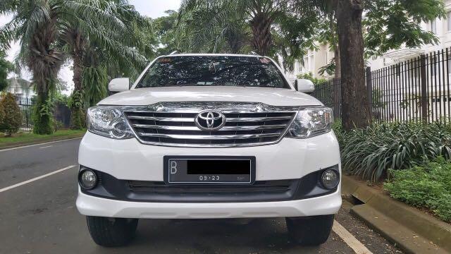 Toyota Fortuner 2.7 G Lux AT Bensin 2013,Penjelajah Yang Sulit Terlupakan