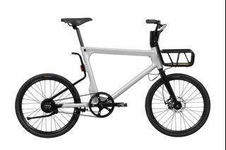 Volta Electric Bike - Grey , size 50 cm