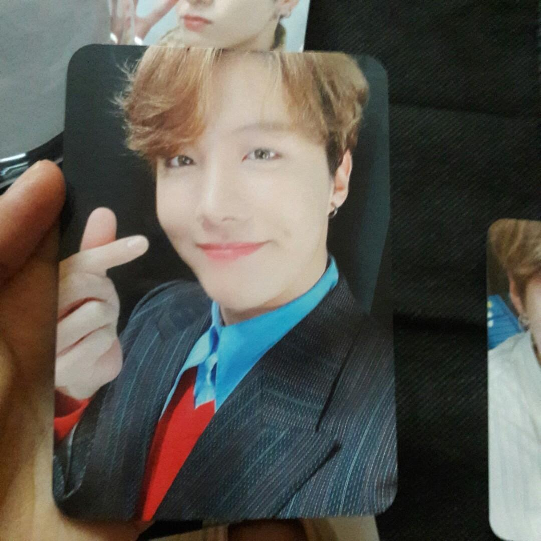 [WTS] readystock J-HOPE photocard BTS Lightstick Special Edition MOTS