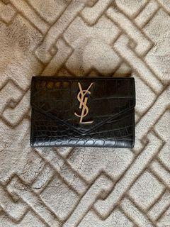 YSL Black Wallet