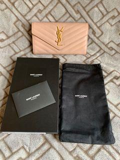 YSL Pale Pink Wallet
