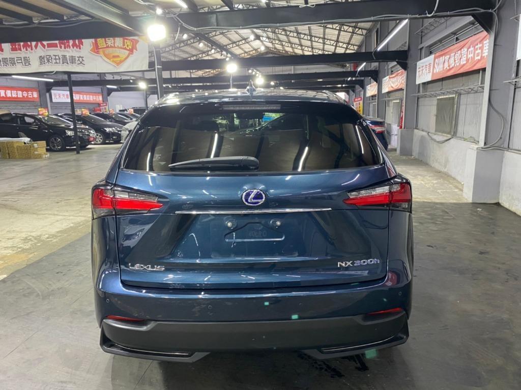 2015年 Lexus NX 300h 2.5 全景天窗旗艦版藍色 非自售