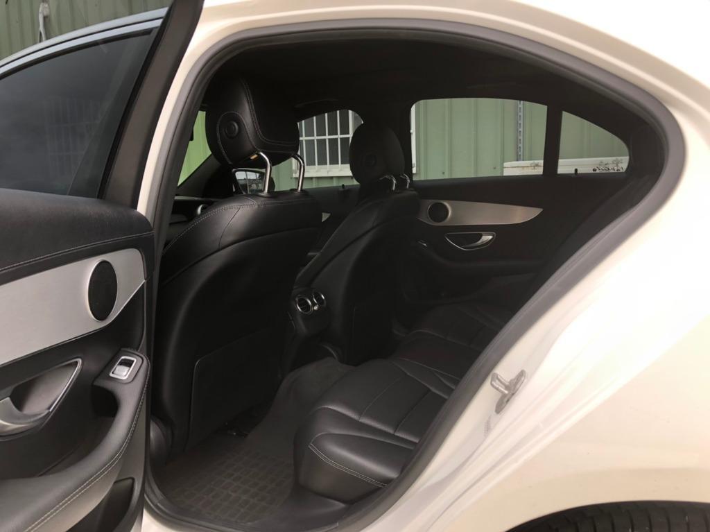 賓士 2015 白色 C300 AMG