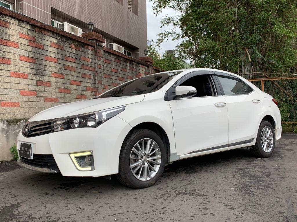 豐田 2016 白色 ALTIS