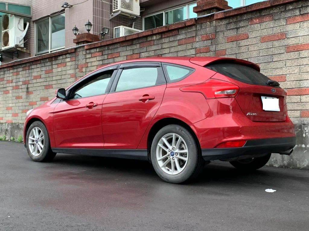 福特 2016 紅色 FOCUS 1.5