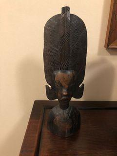 Antique wood sculpture from Kenya