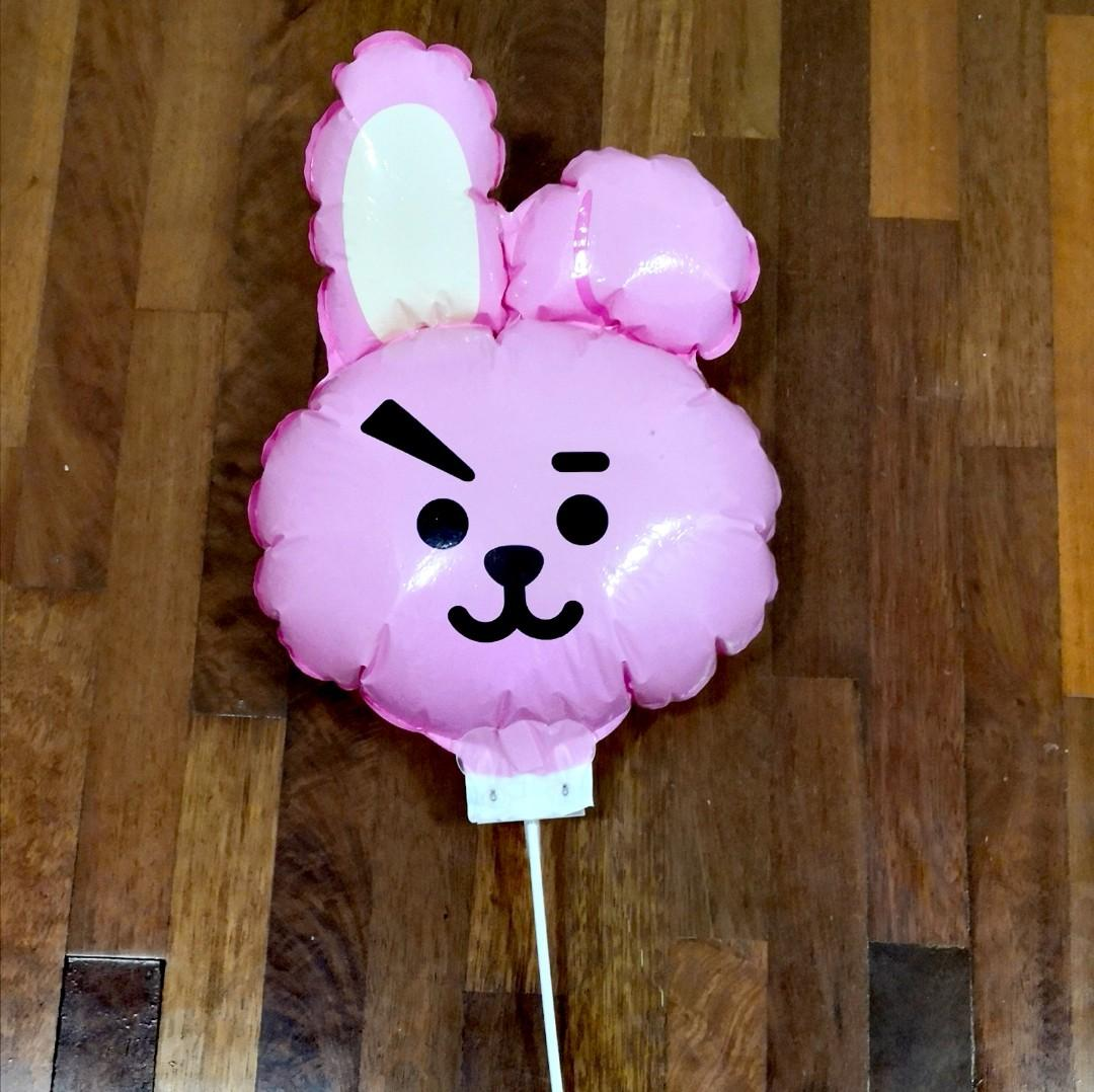 BT21 Chimmy & Cooky Balloon 🎈 From BT21 Line Friends Store In Seoul Korea