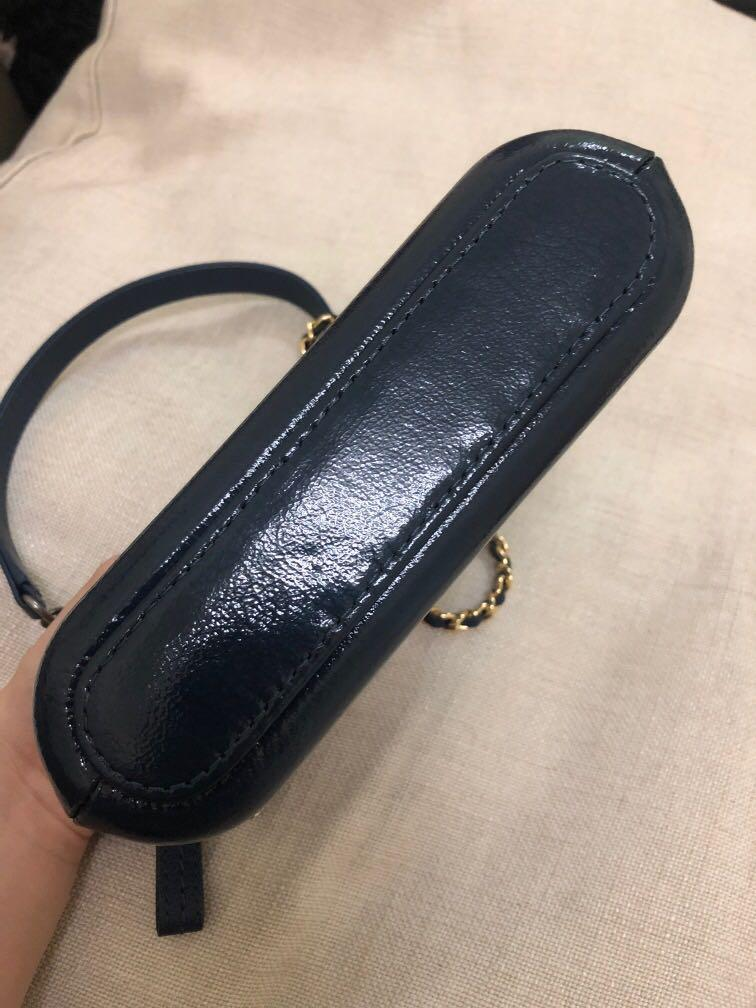Chanel Gabrielle WOC genuine leather wallet on chain small sling bag handbag crossbody