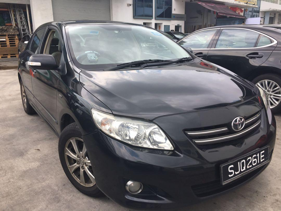 CIRCUIT BREAKER PROMOTION $240 for TOYOTA ALTIS (NO CONTRACT) (First come first serve)