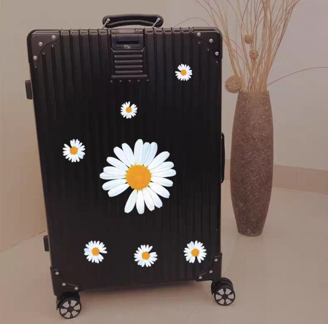 [Ready stock] Daisy luggage stickers, inspired by GD