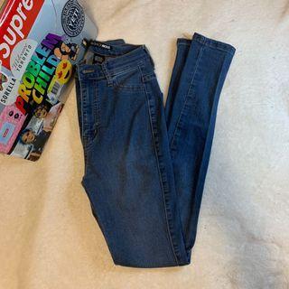 Fashion Nova Medium Wash Jeans