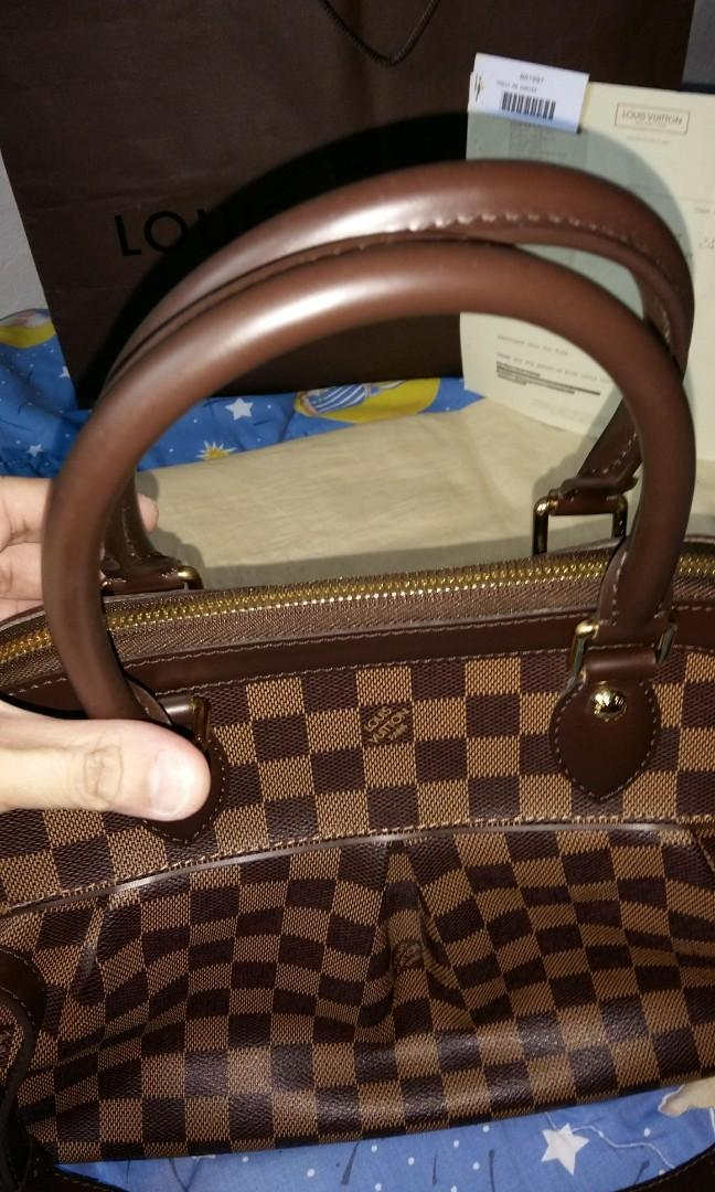 Authentic Louis Vuitton Trevi PM Damier Canvas Bag (Sold out on site Below Cost) Rtp $2540 with Receipt