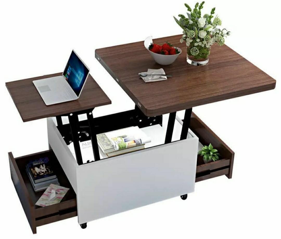 Fold Out Coffee Table Home Furniture Furniture On Carousell